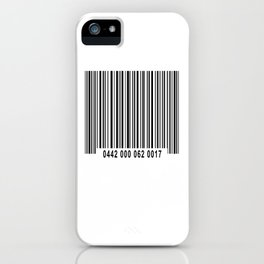 Barcode #1 iPhone Case