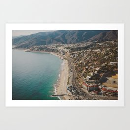 Above LA Art Print