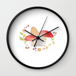 Forest Expedition Wall Clock