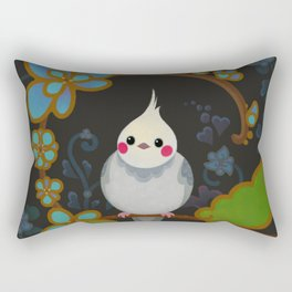 Cockatiel Rectangular Pillow