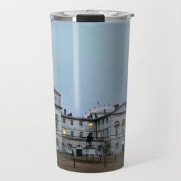 Whitehall London at Dusk Travel Mug