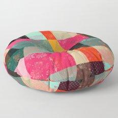 Fragments XI Floor Pillow