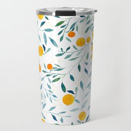 Orange Tree Travel Mug
