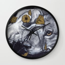 Coyote Wall Clock