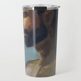BRAD, Semi-Nude Male by Frank-Joseph Travel Mug