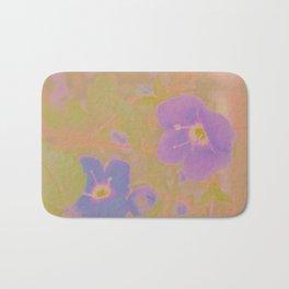 Georgia Blue, The Earth Laughs In Flowers Bath Mat