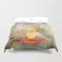 tool Duvet Covers featuring Omni Tool by AngoldArts