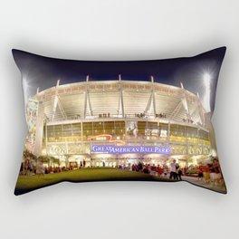 Ball Park Shuffle Rectangular Pillow