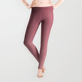 Paprika and pink. gradient, ombre. Leggings