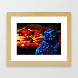 Coastal Sunset Framed Art Print