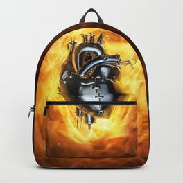 Heavy metal heart Backpack