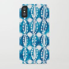 hand dyed eggs iPhone X Slim Case