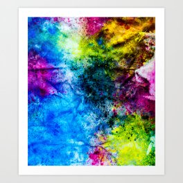 InkCore Eight Art Print