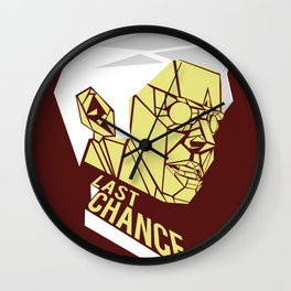 Last Chance Wall Clock