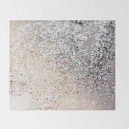 Sparkling GOLD Lady Glitter #6 #decor #art #society6 Throw Blanket
