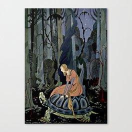 """The Black Tortoise"" by Virginia Frances Sterrett Canvas Print"