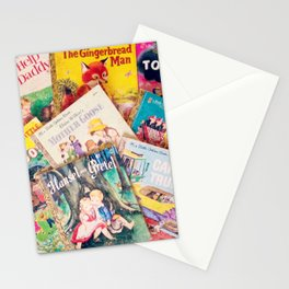Little Vintage Library Stationery Cards