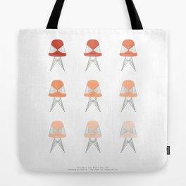 Sherbet Bikini Chairs Tote Bag