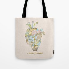 A Traveller's Heart (UK) Tote Bag