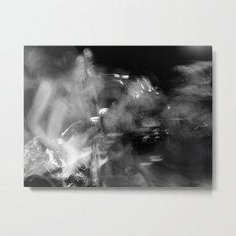 Skun Knees - Swirl Metal Print