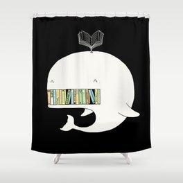 My Book Shelf Shower Curtain