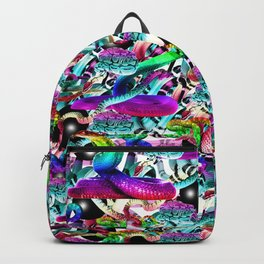 Neon Snakes Backpack