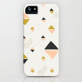 Abstract rhombuses iPhone Case