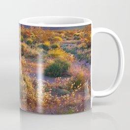 Wildflower Meadow at Joshua Tree National Park Coffee Mug