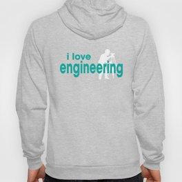 I Love Engineering Hoody
