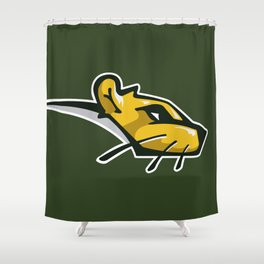 Sewer Rats Logo Shower Curtain