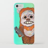 ewok iPhone & iPod Cases featuring Eccentric Ewok by Jordan Soliz