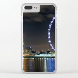 Singapore At Night Clear iPhone Case