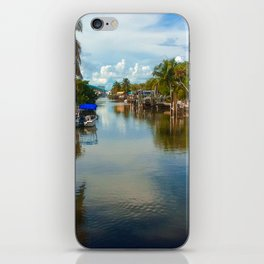 Peaceful Relection iPhone Skin