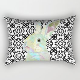 Bunny Bliss Rectangular Pillow