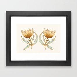 Bohemian Sunflowers II Framed Art Print
