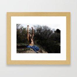 Birthing Libra Framed Art Print