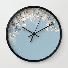 Symphony Blues Wall Clock