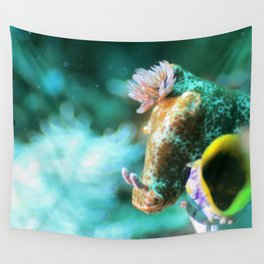 Ethereal nudibranch Wall Tapestry