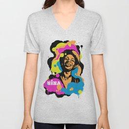 Soul Activism :: Nina Simone Unisex V-Neck