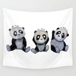 Tree Pandas Wall Tapestry