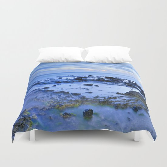 Blue Monsul Duvet Cover