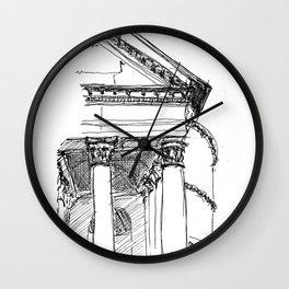 The Pantheon, Rome Wall Clock