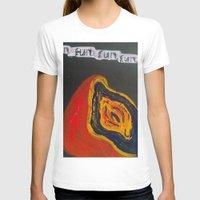 vagina T-shirts featuring Fun. Fun. Fun. Vagina  by Emily Storvold