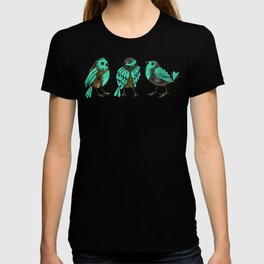 Turquoise Finches T-shirt