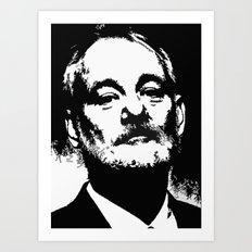 Bill F@#king Murray Art Print
