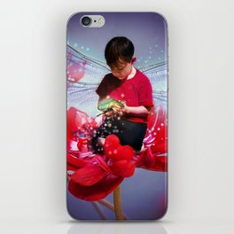 Red Bug Fairy iPhone Skin