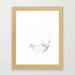 Kot Framed Art Print