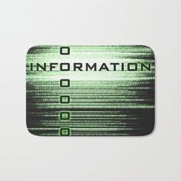 Information Bath Mat