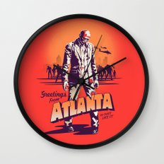 No Place Like it! Wall Clock