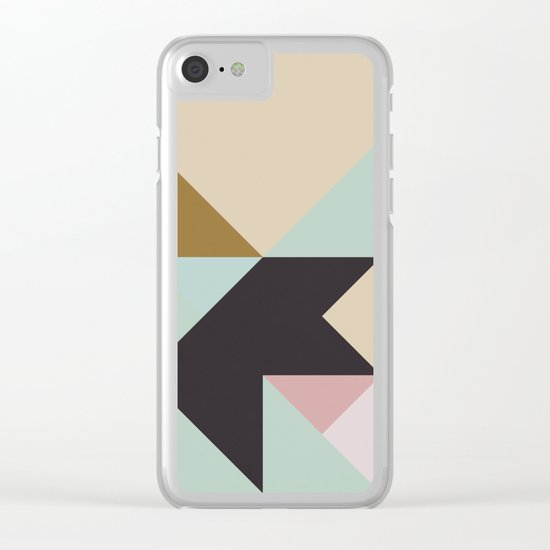 The Nordic Way IV Clear iPhone Case